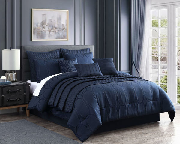 Picture of Danielle 10 Piece King Comforter Set
