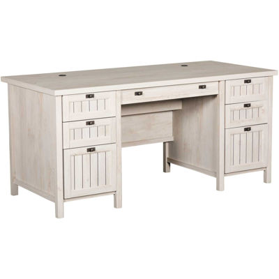 Picture of Costa Executive Desk Chalked Chestnut