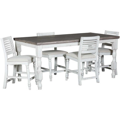Picture of Stone 5 Piece Dining Set
