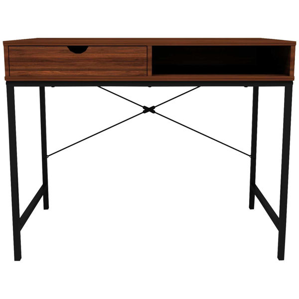 Picture of Liverpool Black Open Desk