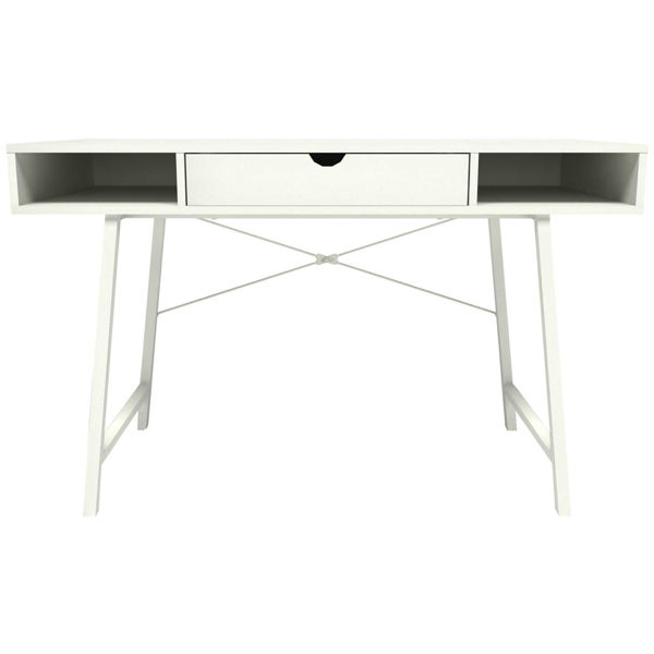 Picture of Paris White Open Desk