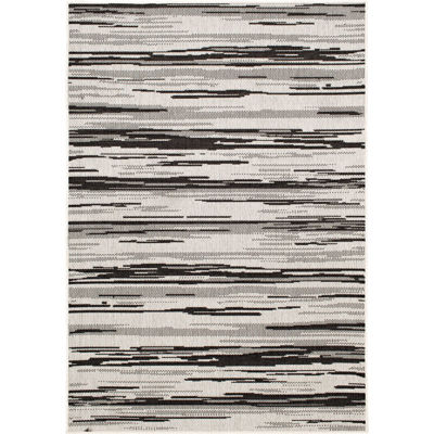 Picture of Albin-Ecru/Pitch 8x10 Rug