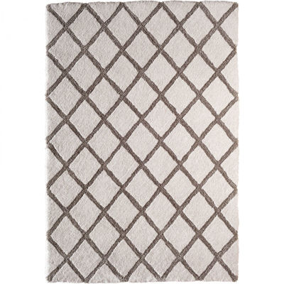 Picture of Galant Ivory Pattern 5x7 Shag Rug