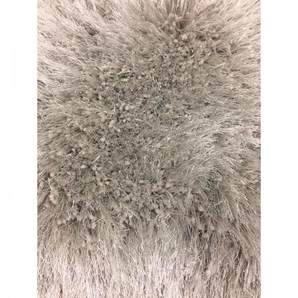 Picture of Shimmer Shag Platin Champange 8x10 Rug