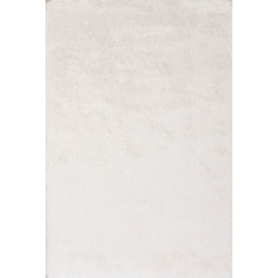 Picture of Shimmer Shag Snow Gold 5x8 Rug