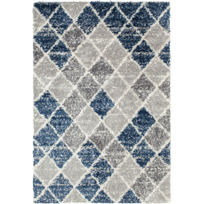 Picture of Jax Blue Multi 8x10 Rug