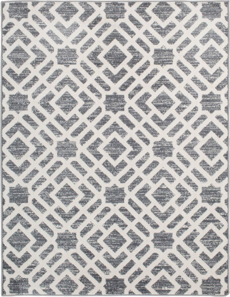 Picture of Newell Stone Snow 5x7 Rug