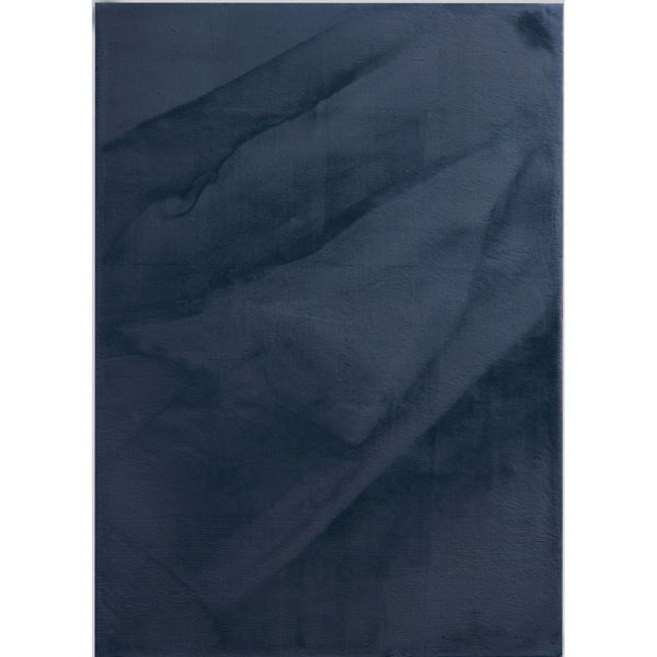 Picture of Brinley Navy Soft Shag