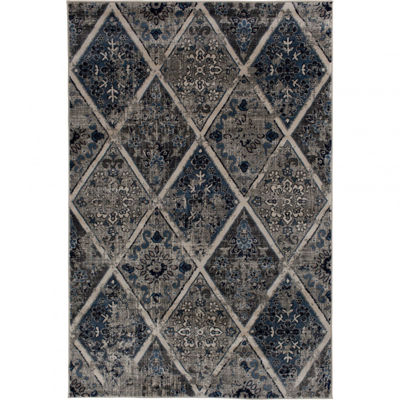 Picture of Braddyville Vintage Panels 5x7 Rug