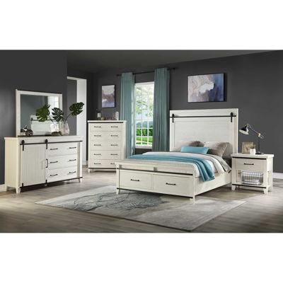 Picture of Dakota 5 Piece Bedroom Set Queen Bookcase Storage