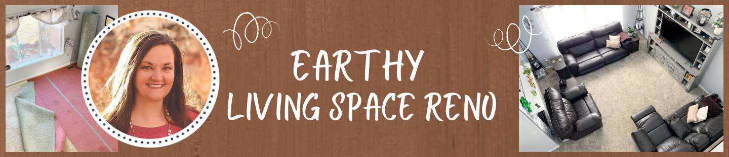 Blogger Spotlight | Earthy Living Space Reno by Laura Funk