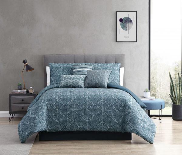 Picture of Damona 7 Piece Queen Comforter Set