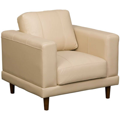 Picture of Hampton Cream Leather Chair