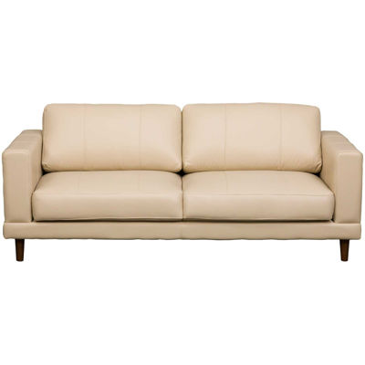 Picture of Hampton Cream Leather Sofa