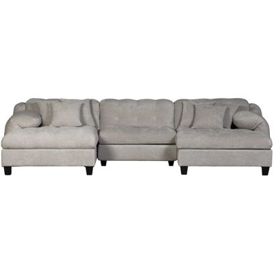 Picture of Bowie 3PC P2 Sectional with Double Chaise