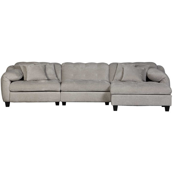 Picture of Bowie 3PC P2 Sectional with RAF Chaise