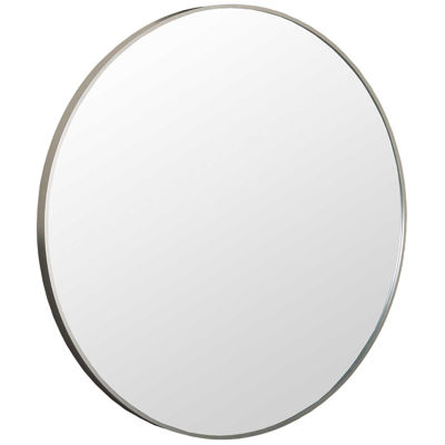 Picture of Round Silver Aluminium Mirror