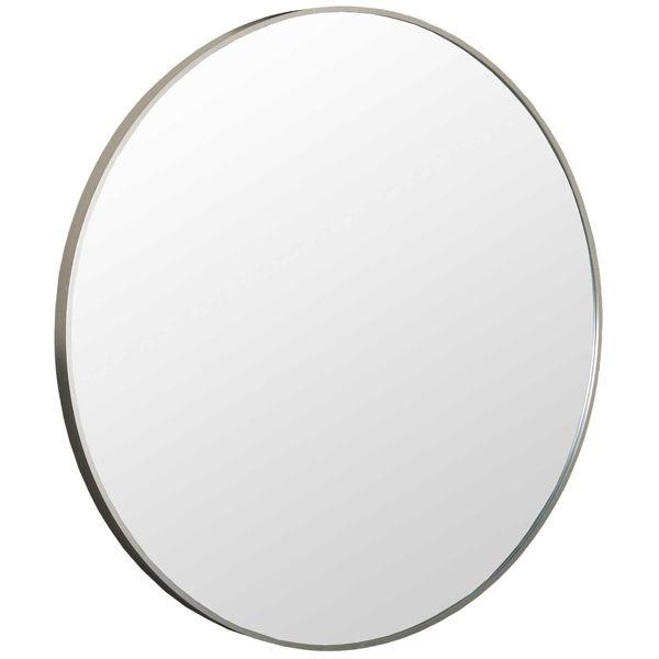 Picture of Round Silver Aluminium Mirror