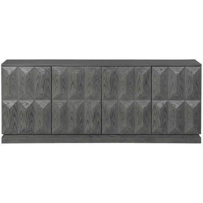 Picture of Geometric Gray Media Console