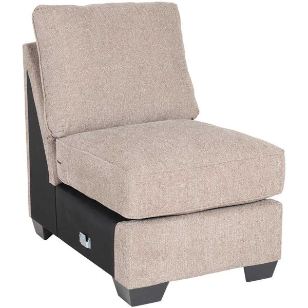 Picture of Taupe Armless Chair