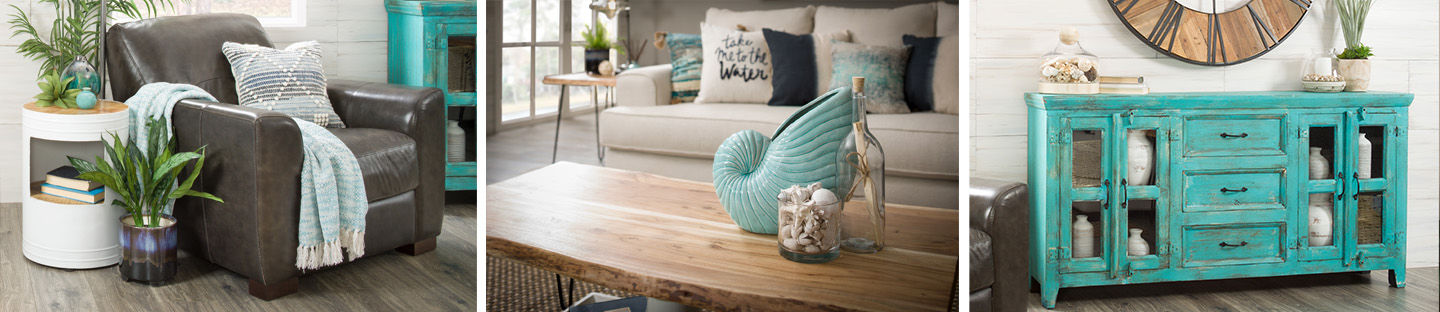 Relaxing & Tranquil: Coastal Living Room