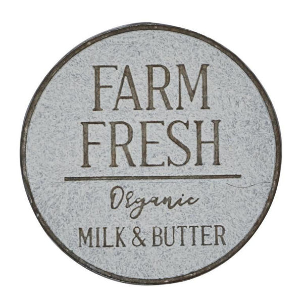 Picture of Metal Wall Sign Farm Fresh