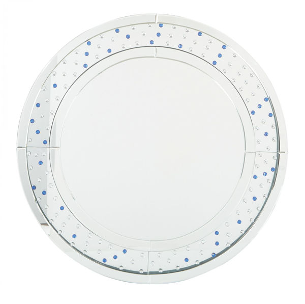 Picture of Silver Frame Round Mirror
