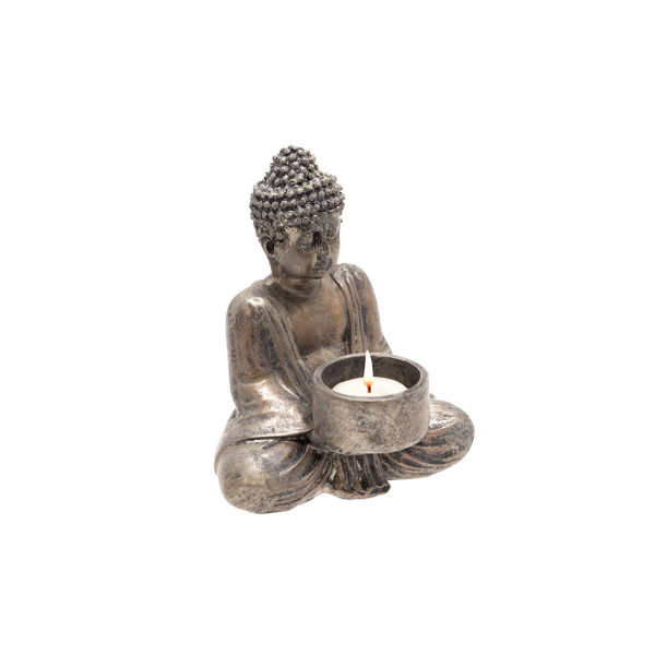 Picture of Seated Buddha Tealight Holder