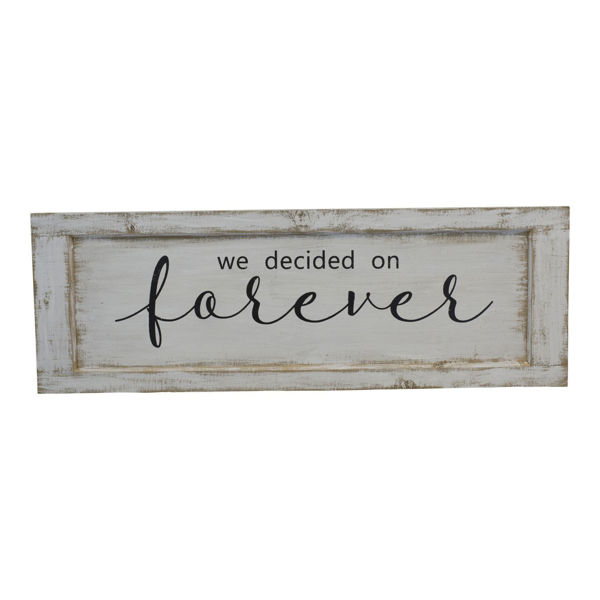 Picture of Forever Wood Sign