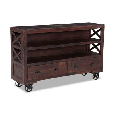 Picture of Vintage Industrial TV Console