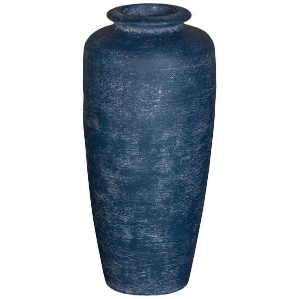 Picture of Deja Blue Floor Vase Med