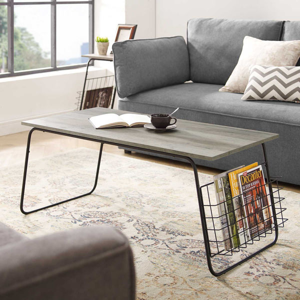 Picture of April Gray Coffee Table