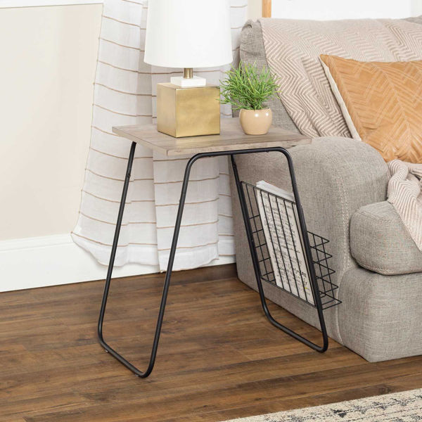 Picture of April Gray Side Table