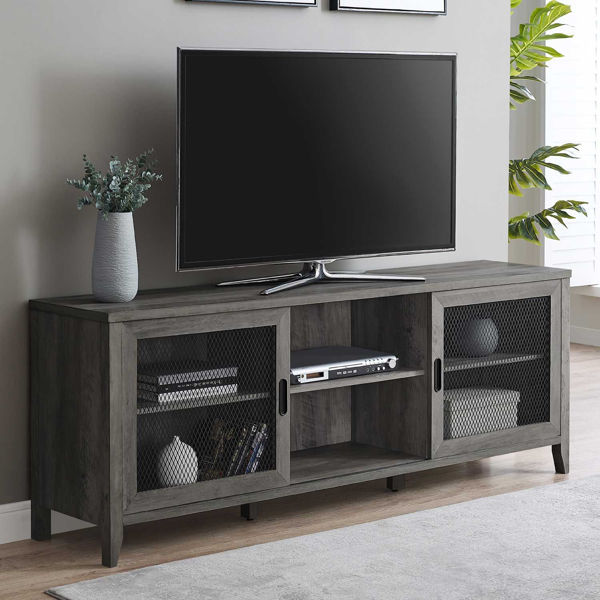 Picture of Arthur Dark Wood TV Stand