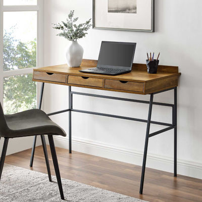 Picture of Marvin Dark Wood Writing Desk