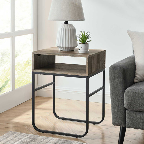 Picture of Naomi Gray Side Table