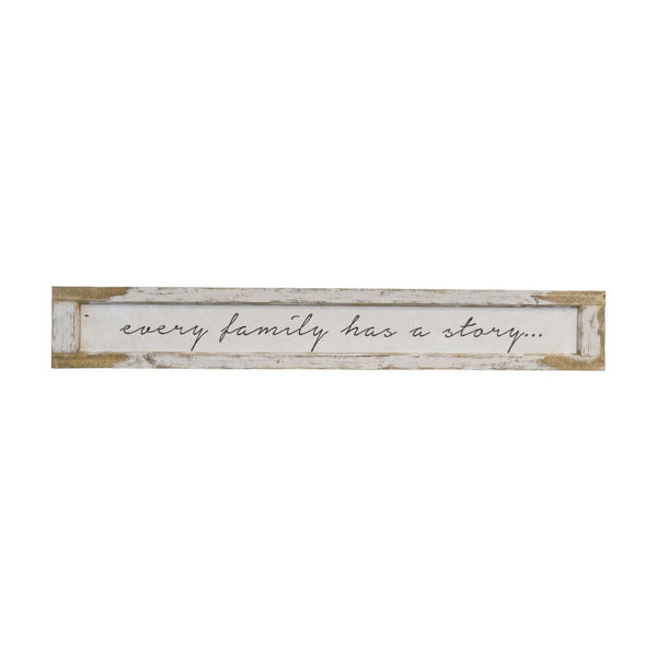 Picture of Every Family Wood Sign
