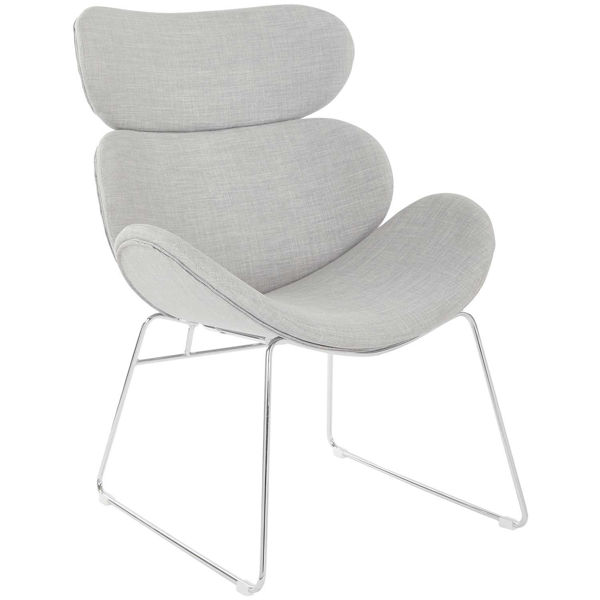 Picture of Jupiter Gray Modern Accent Chair