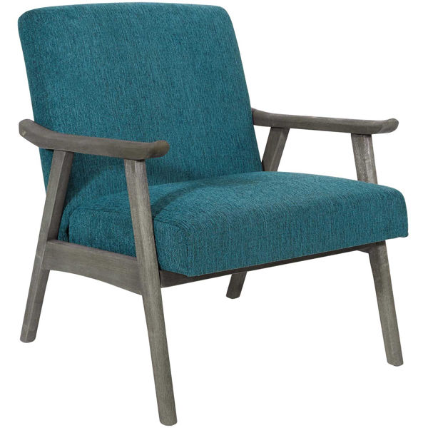 Picture of Oscar Blue Arm Chair