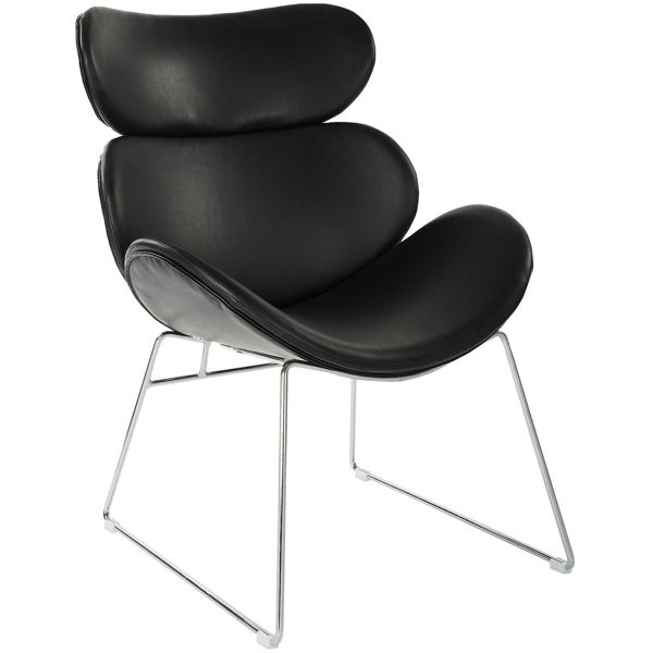 Picture of Jupiter Black Modern Accent Chair