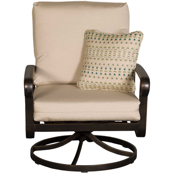 Picture of Arrington Swivel rocker with seat back cushions