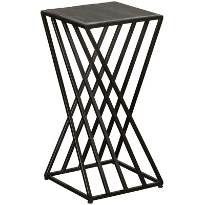 Picture of Grey Vintage Industrial Accent Table