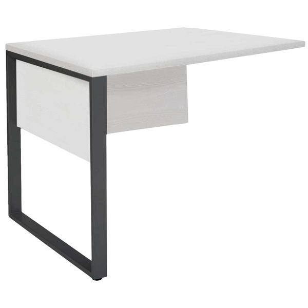 Picture of Manhattan White Return Desk 32
