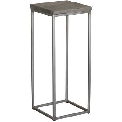 Picture of Grey Vintage Square Side Table