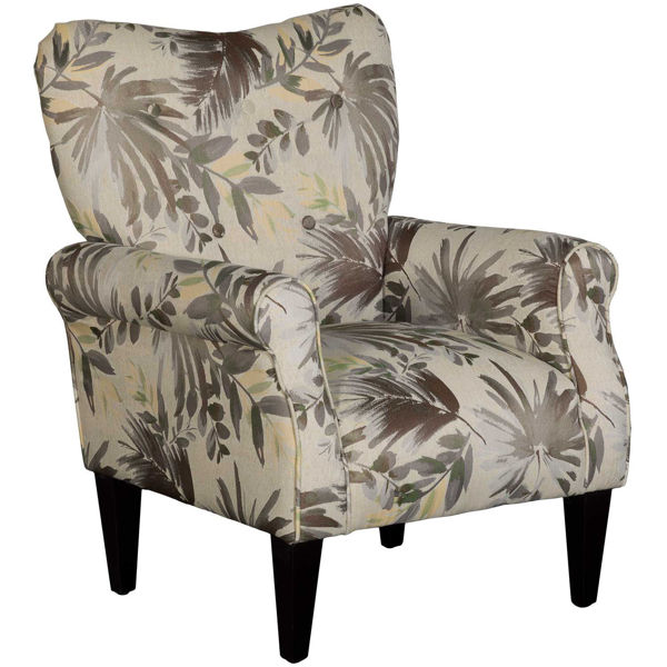 Picture of Beck Palm Leaf Accent Chair