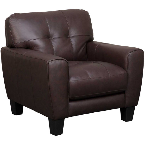 Picture of Aria Brown Leather Chair