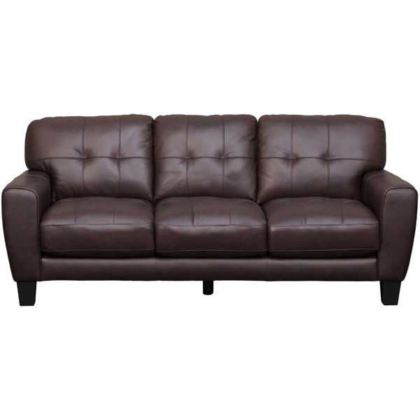 Picture of Aria Brown Leather Sofa