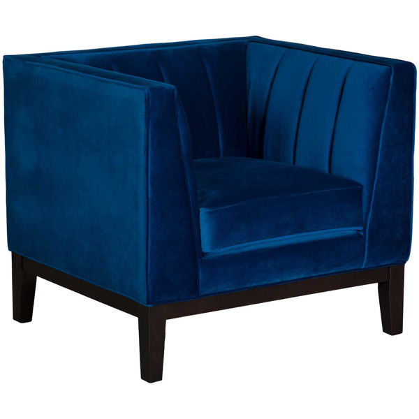 Picture of Calais Royal Blue Chair