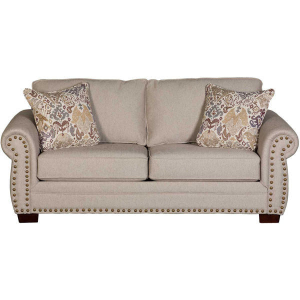 Picture of Andes Linen Loveseat
