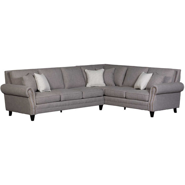 Picture of Willow Creek Gray 2 Piece Sectional
